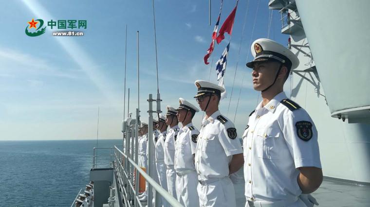 The Chinese naval training ship Qi Jiguang (Hull 83) visit to Thailand