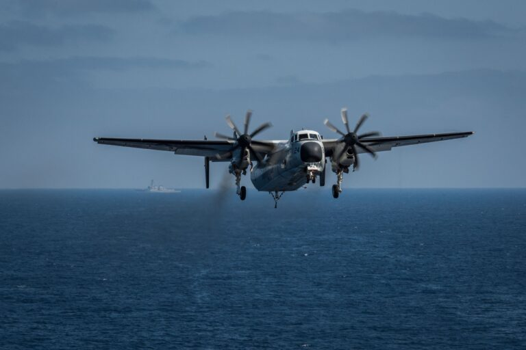 Search ends for Sailors in C-2A crash