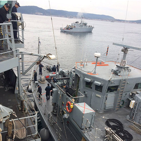 NATO SNMCMG2 Participates in Turkish-led Exercise NUSRET 2017