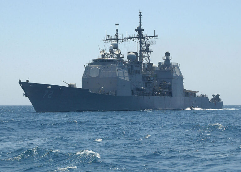 USS Vella Gulf (CG 72) visits in Agadir, Morocco