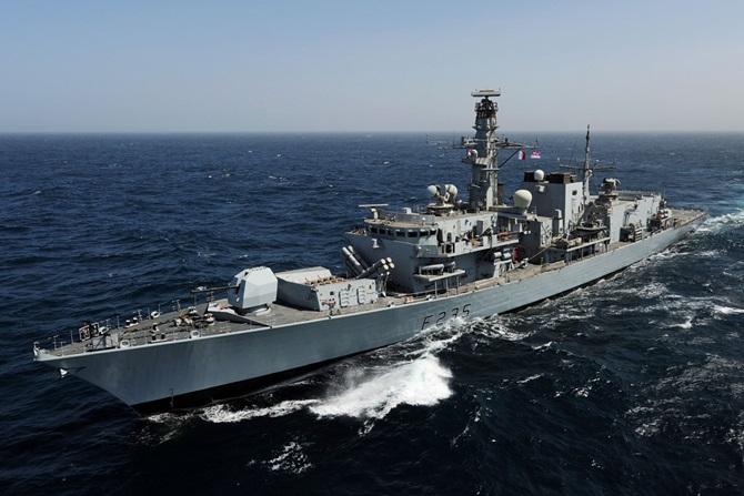 Royal Navy frigates at Portsmouth and Devonport reorganised