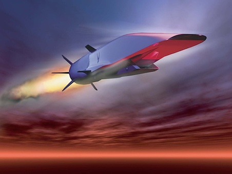 The U.S. Navy has conducted its first test of Hypersonic Missile