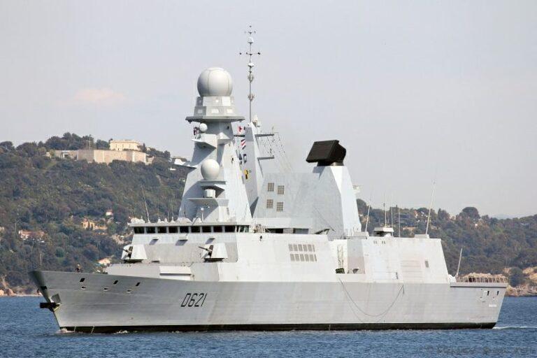 France's CATG Departs Port for a Bilateral Deployment