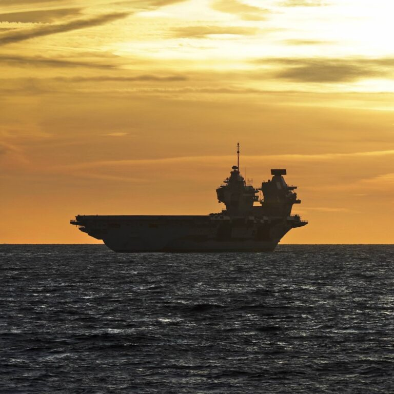 """Supercarrier HMS Queen Elizabeth recently arrived back home after a """"successful"""" second phase of sea trials."""