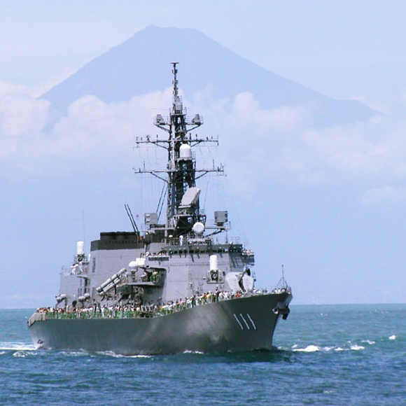 Japan anti-submarine destroyer in Philippines for 2-day visit