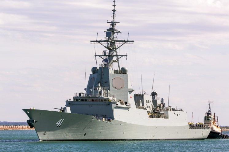 Second Royal Australian Navy  destroyer enters sea trials
