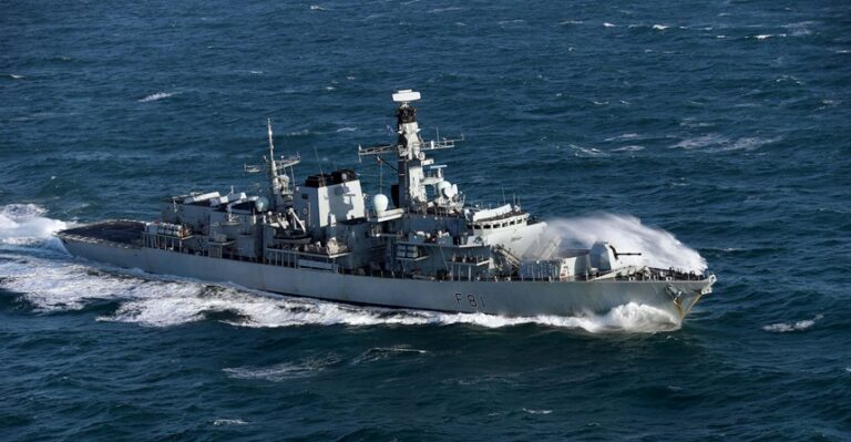HMS Sutherland to deploy to Asia Pacific region next year