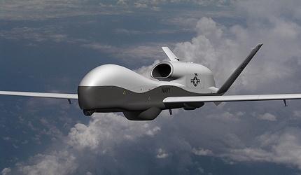 MQ-4C Trition UAV to the US Navy at its facility at Point Mugu