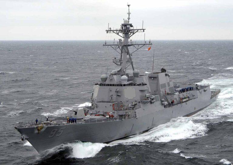 USS James E. Williams (DDG 95) visits in Odessa-Ukraine