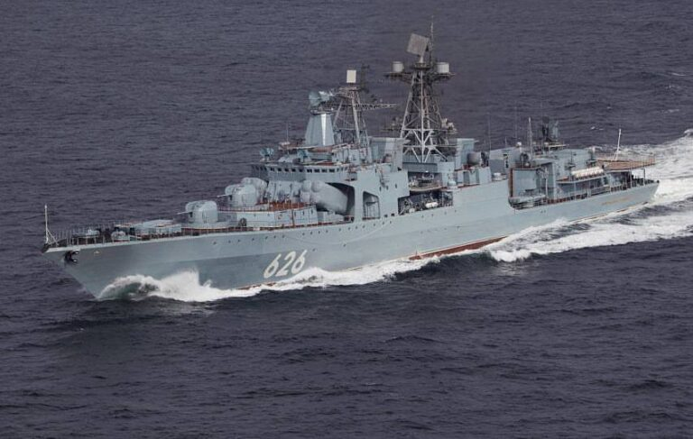 Vice-Admiral Kulakov has passed through the English Channel