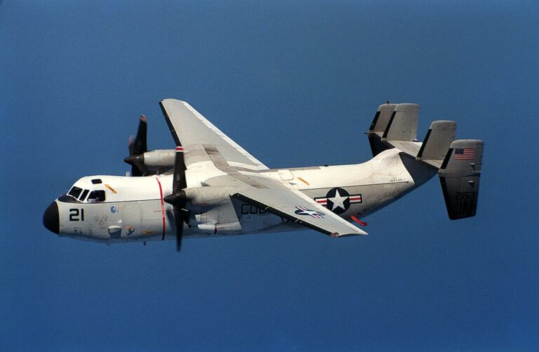 United States Navy C2-A Greyhound aircraft carrying 11 crew and passengers crashed into the ocean southeast of Okinawa at approximately 2:45 p.m. today (Japan Standard Time, Nov. 22, 2017)