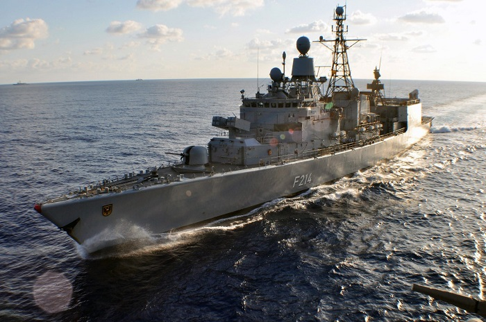 German frigate FGS Lübeck returned from SNMG2 deployment