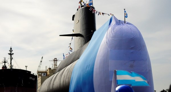 Argentina's president vows submarine search will continue