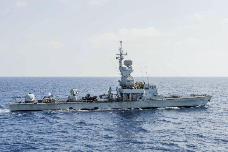 Israeli Navy upgraded its first Saar 4.5.