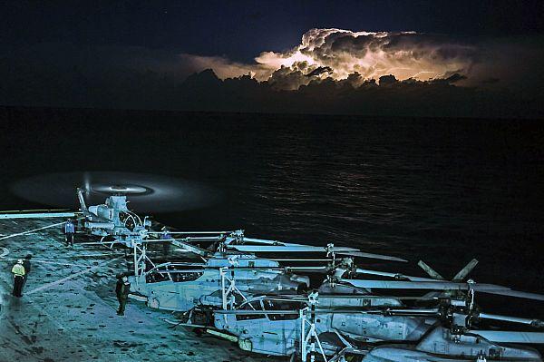 USS San Diego Arrives In Souda Bay, Greece