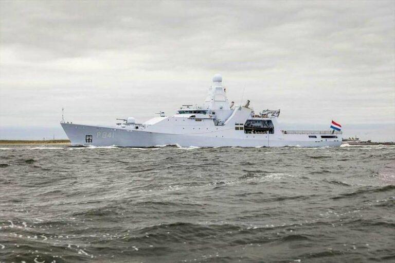 HMNLS ZEELAND returned to homeport