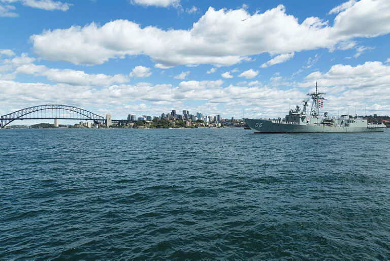 HMAS Newcastle returned to her home port of Fleet Base East, Garden Island, Sydney