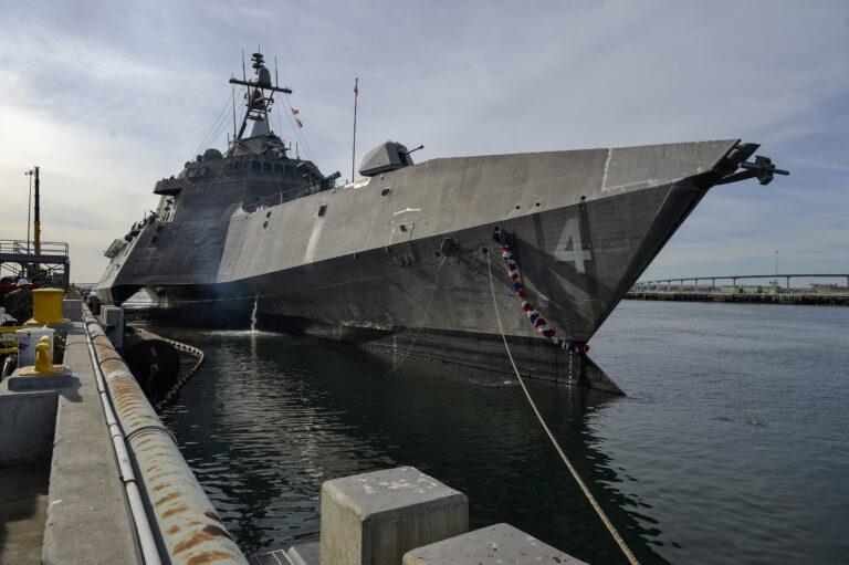USS Coronado Returns to San Diego