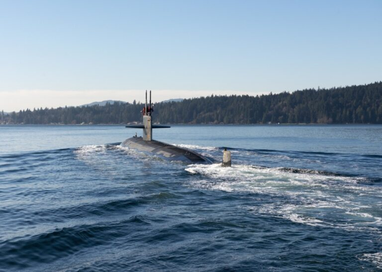 USS Jacksonville (SSN 699) Arrives in Bremerton for Decommissioning