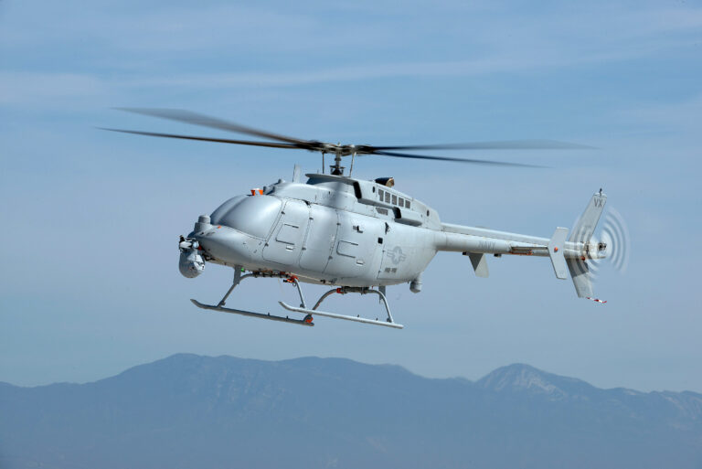 The U.S. Navy's MQ-8C Fire Scout will receive a new radar and datalink