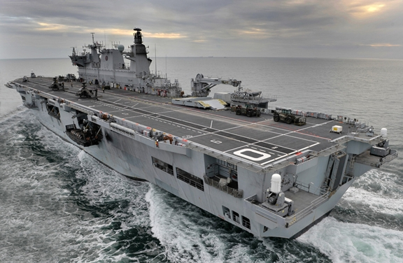 Brazilian government authorises the navy to begin efforts to purchase HMS Ocean