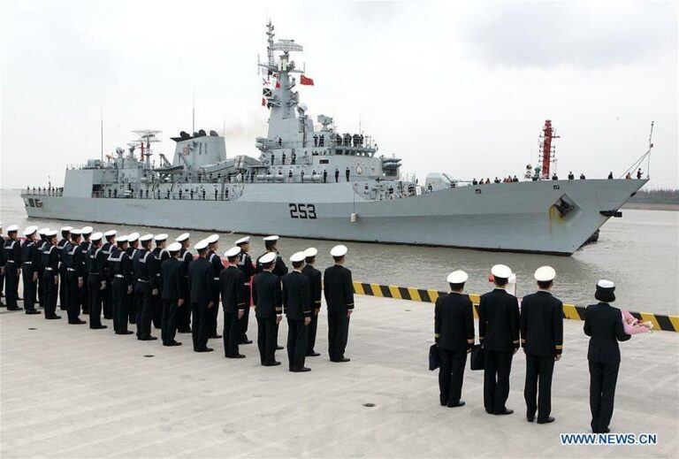 PNS SAIF arrives in Shanghai on goodwill training mission.