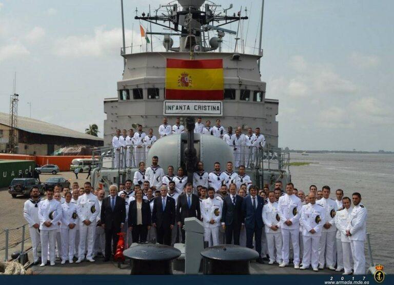 Spanish Prime Minister visits SPS Infanta Cristina