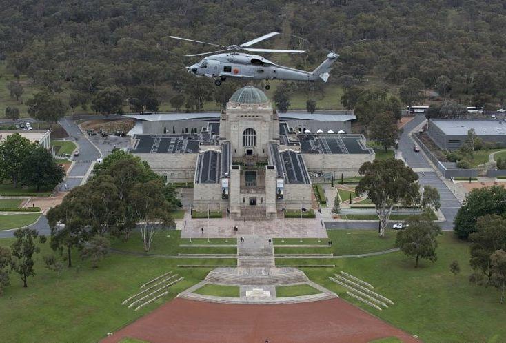 Seahawk flies into history