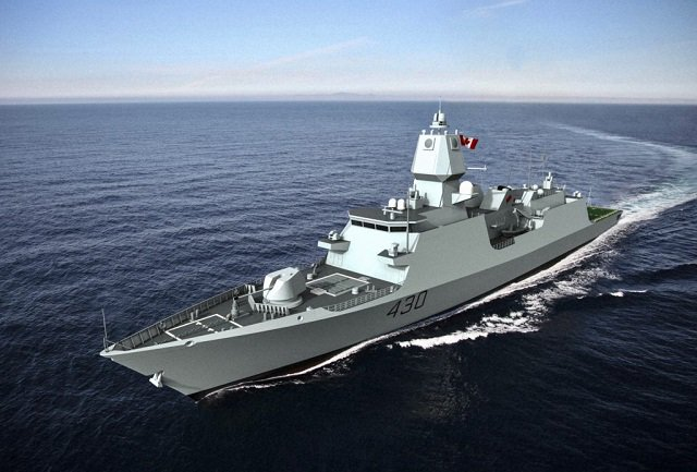 Alion submits proposal for the Canadian Surface Combatant