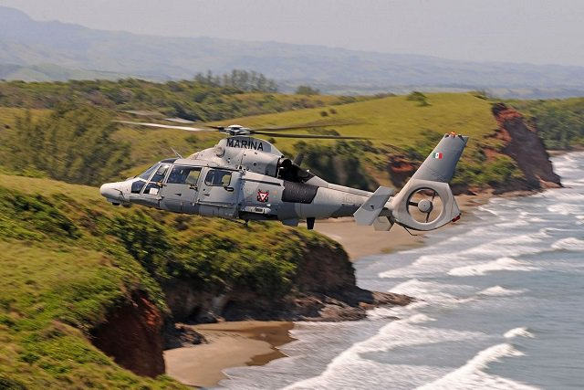 The Mexican Navy has received its final two AS565 MBe Panther helicopters