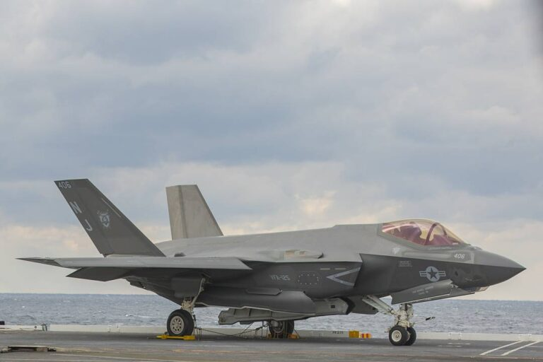 Lincoln Completes First F-35 Carrier Qualification