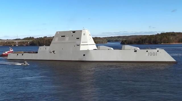 USS Michael Monsoor cut short its first sea trials