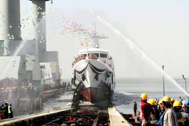 Pakistan launched new Maritime Patrol Vessel