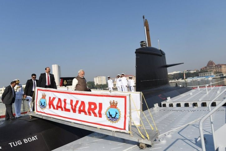 INS Kalvari has been commisioned to the Indian Navy