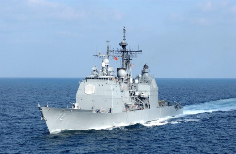 USS Vella Gulf (CG 72) returned to its homeport at Norfolk Naval Station