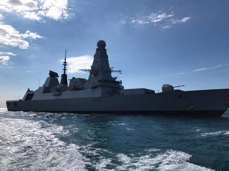 Royal Navy destroyer HMS Duncan heads for NATO SNMG2 deployment