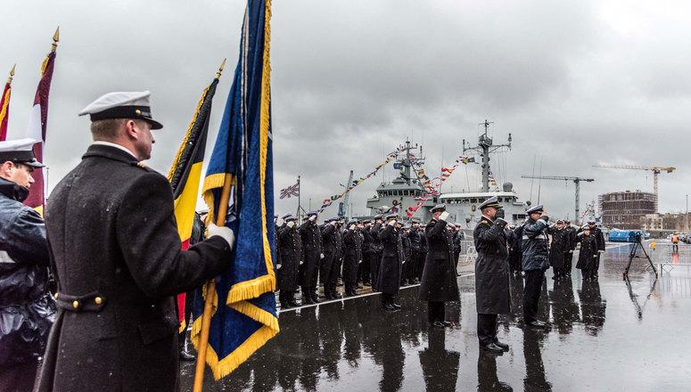 Belgian Navy took command of Standing NATO Mine Countermeasures Group One (SNMCMG1)