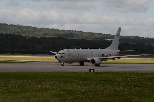 The U.S. Navy sent a P-8A aircraft  to assist in an international search and rescue (SAR) effort in the East China Sea,