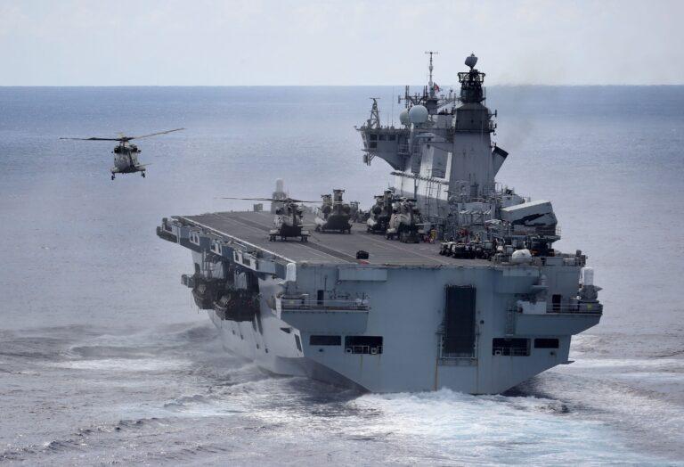 Brazil announce purchase of HMS Ocean for £84 million