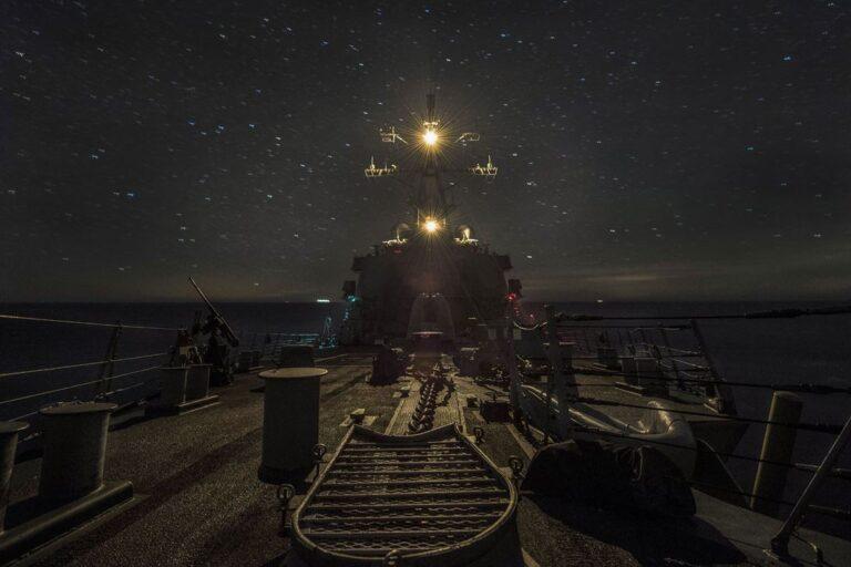 USS Carney Arrives in Odessa, Ukraine