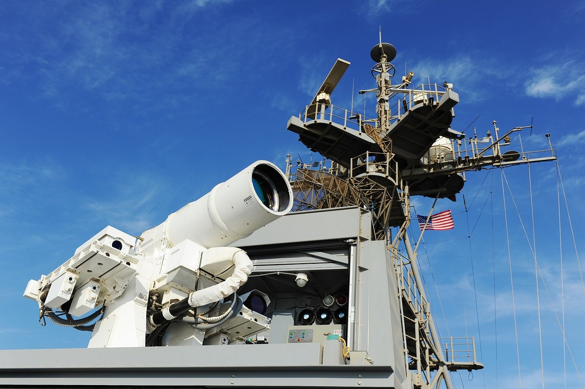 The U.S. Navy will test a new laser weapon