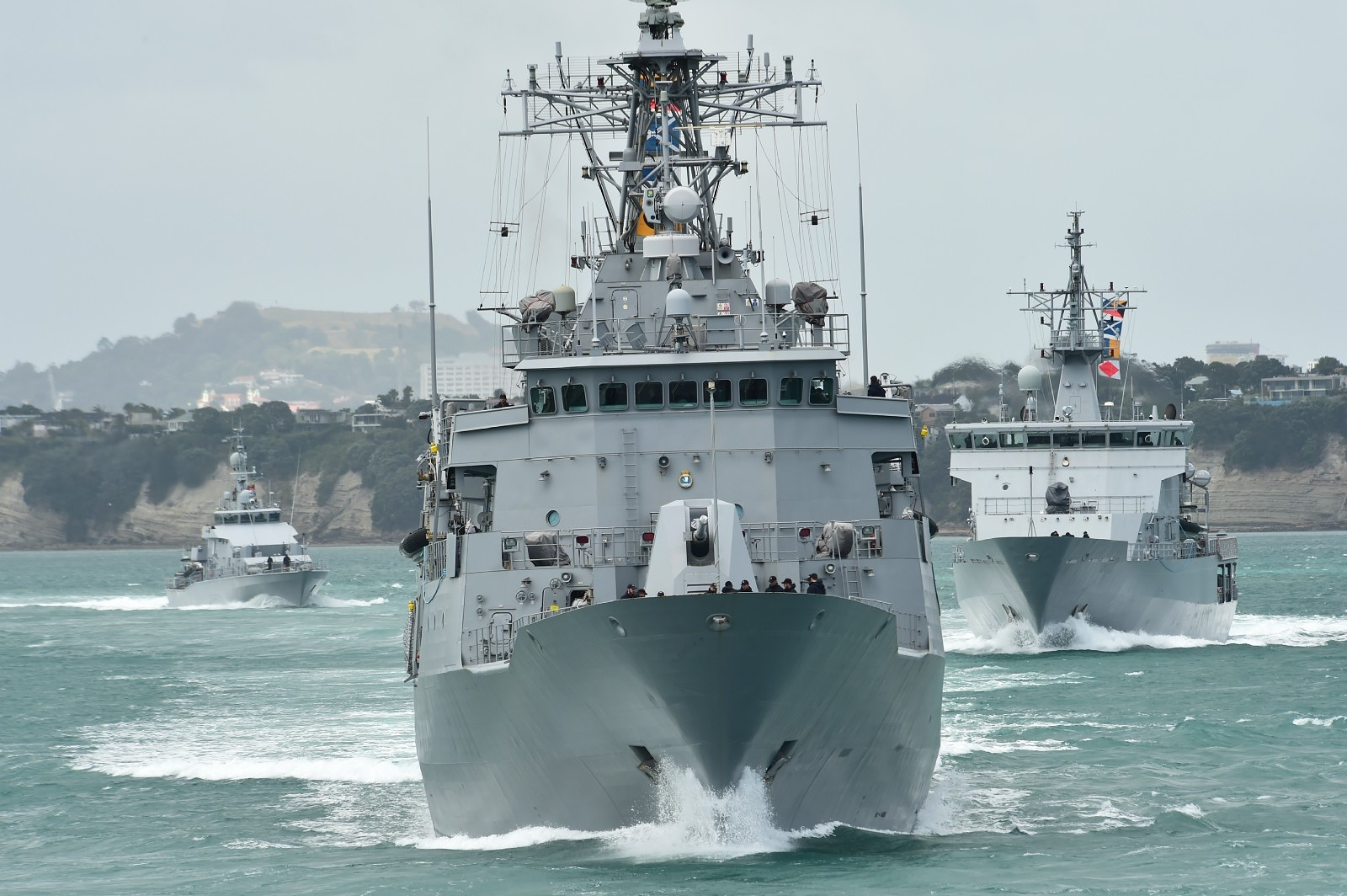 NZDF gets maritime fleet ready for operations