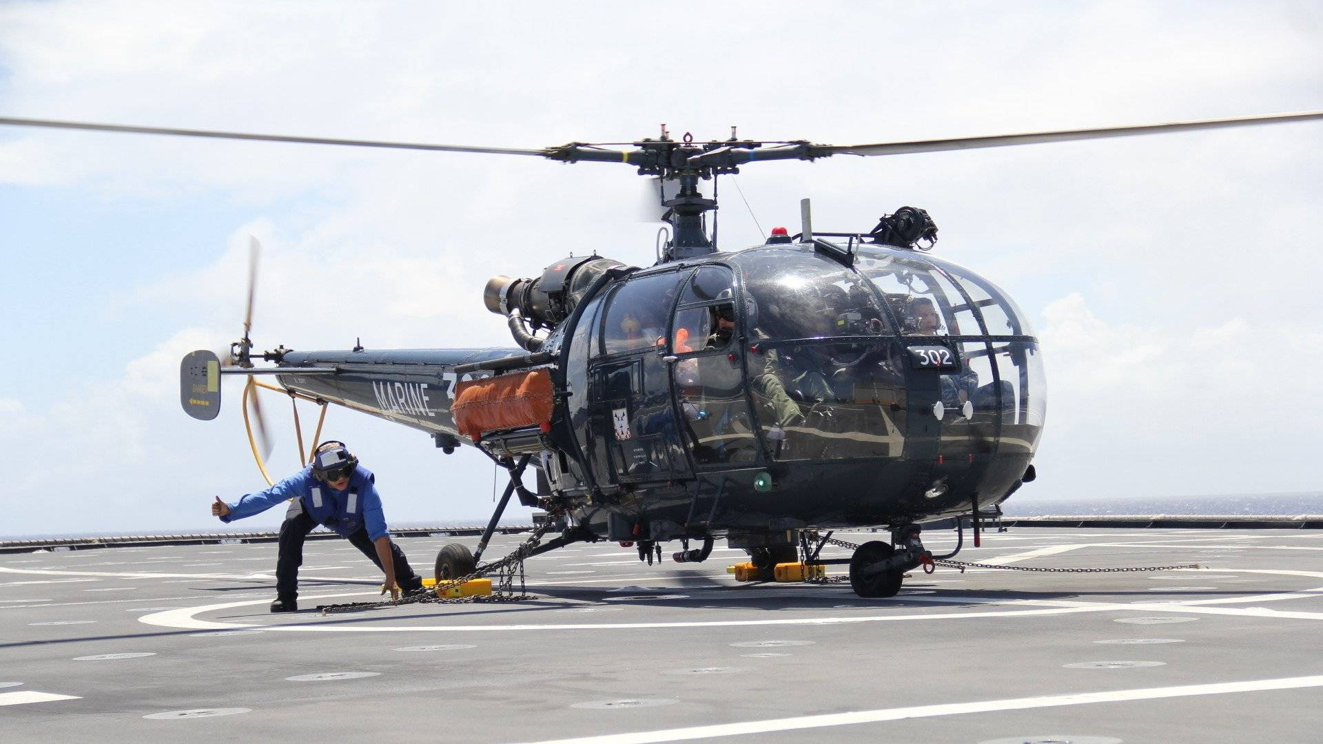 The French Navy will reportedly retire the last of its Alouette III light helicopters