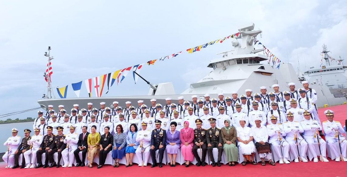 The Indonesian Navy commissioned its second SIGMA 10514 guided missile frigate