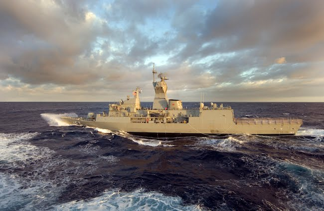 Babcock signs £115m five-year deal to maintain Australian navy frigates