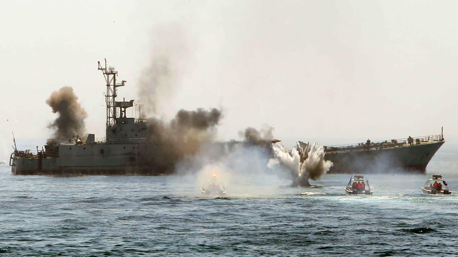 Iranian Boats Mysteriously Stop Harassing U.S. Navy