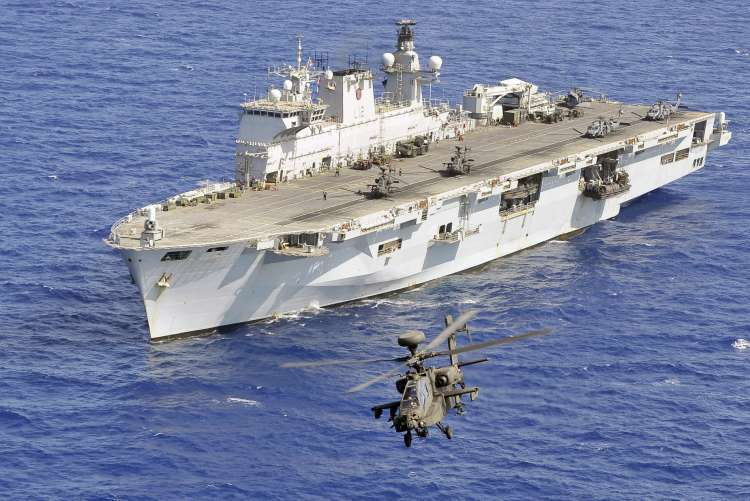 HMS OCEAN, UK's largest warship was decommissioned
