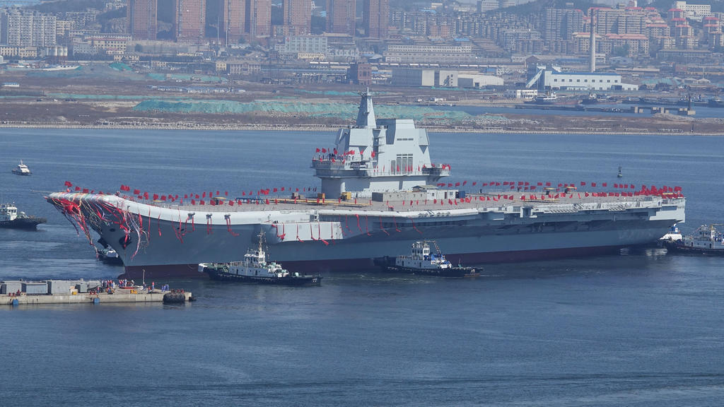 China's first home-grown aircraft carrier set to carry out maiden sea trial