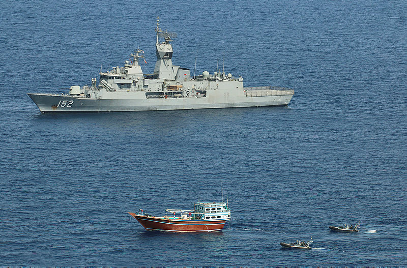 HMAS Warramunga has seized two more hauls of illicit narcotics valued at approximately AUD$315.4 million.