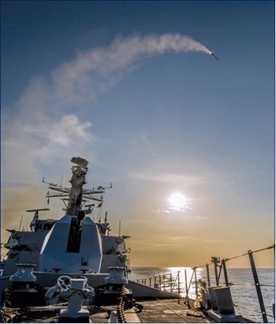 Royal Navy accepted Sea Ceptor Missile into service